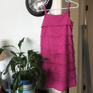 Hanna Andersson ruffle tier dress size 160/14-16
